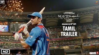 M.S.Dhoni - The Untold Story | Official Tamil Trailer | Sushant Singh Rajput | Neeraj Pandey width=
