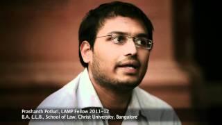 LAMP Fellow Prashanth Potluri on interacting with experts