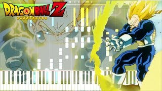 Dragon Ball Z OST - Vegeta Super Saiyan (Extended) | Piano Tutorial, ドラゴンボールZ【ピアノ】