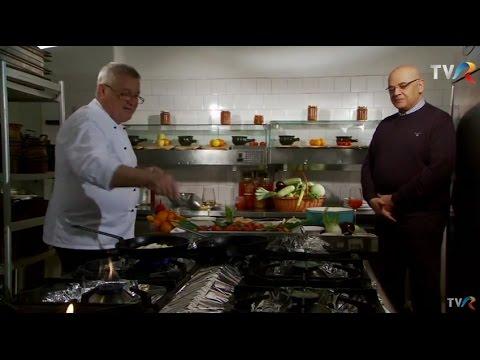 Reţeta lu' Dinescu: Paste păcălite cu legume