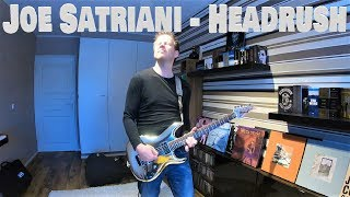 Joe Satriani - Headrush  WITH TABS  - Juha Aitakangas
