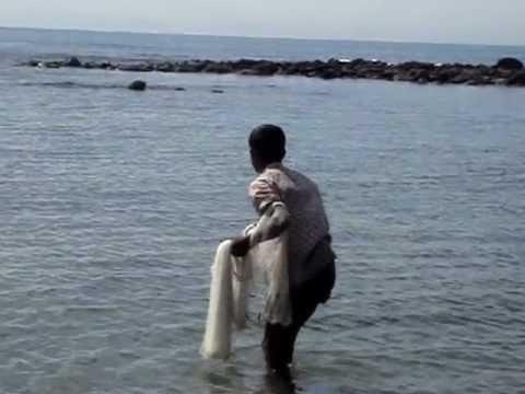 A local fisherman in the Saint Martins Island of Bangladesh