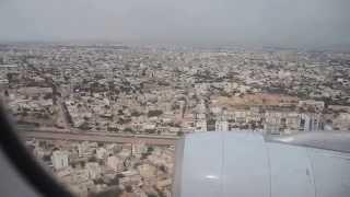arrivée a Dakar vol sn 205 Brusel Airlines 14/08/2014 width=