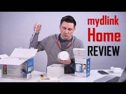 UNBOXING & REVIEW - mydlink Home Smart Security Kit