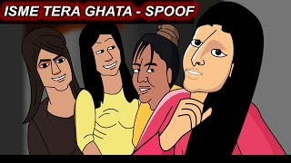 Isme Tera Ghata - four viral girls spoof