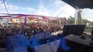 Earthling LIVE @ Equinox Festival by Ommix, Mexico 21/03/2015 (with Aztec dancer!)