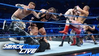 SmackDown Tag Team Championship No. 1 Contenders' Battle Royal: SmackDown LIVE, Dec. 13, 2016