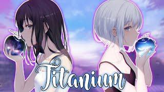 「Nightcore」↪ Titanium (Switching Vocals) || lyrics ✔