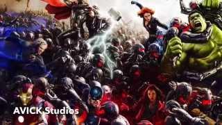Avengers Age Of Ultron! Trailer International Japanese Song! (In Memory)