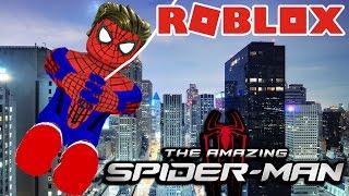 Roblox | TRỞ THÀNH NGƯỜI NHỆN CỨU THÀNH PHỐ - The Amazing Spider-Man 2 | KiA Phạm