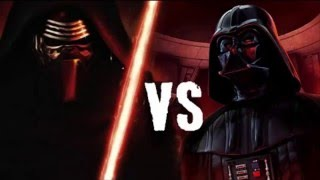 FRIKI RAP BATTLE: KYLO REN VS DARTH VADER (FT IAN)