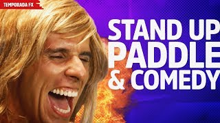 Stand Up Paddle & Comedy