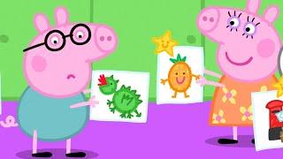 Peppa Pig Full Episodes   Playgroup Star   Cartoons for Children