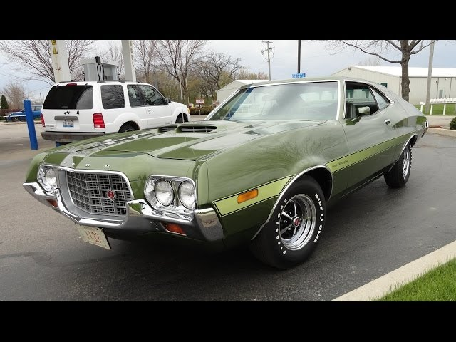 1972 Ford Gran Torino Sport 351 Cobra Jet - My Car Story with Lou Costabile
