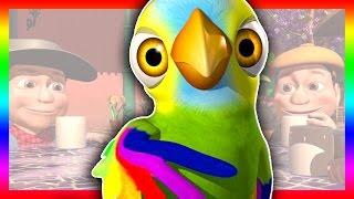 O papagaio Pepe - A Fazenda do Zenão 3 | O Reino das Crianças