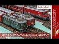 Betrieb Im Schmalspur-Bahnhof - Modellbahn Thun #15