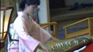 Koto background music in hotel, Hamamatsu,Japan