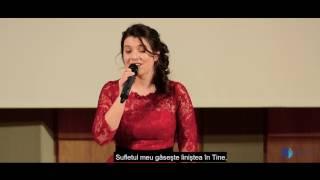 Luiza Spiridon - Meine Seele ist stille in dir (Sufletul meu găseşte liniştea în Tine)