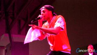 Diggy Simmons performing '4 Letter Word' Live at FSO