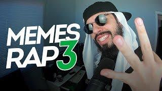 RAP COM OS MEMES MAIS ENGRAÇADOS EP. 3 ♫
