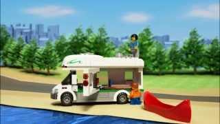Lego City | Great Vehicles | 60057 | Camper Van | Lego 3D Review