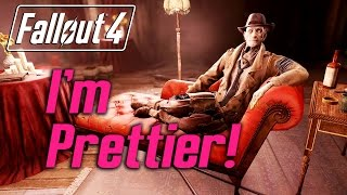 Fallout 4 - Nick says he's prettier than Jezebel :)