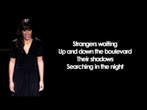 Glee - Don\'t Stop Believing (Lyrics) Chords - Chordify