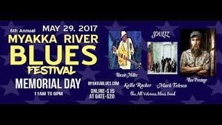 "Kellie Rucker ""Rollin And Tumblin"" @ The Myakka River Blues Fest 2017"