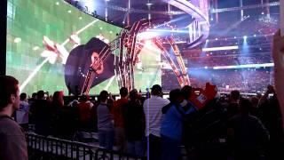 Wrestlemania 27 Booker T + Jim Ross + Michael Cole Entrances
