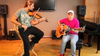 David Garrett and Marcus Wolf - Cry Me A River (acoustic)