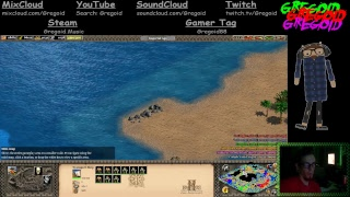 Live Gaming/Music With Gregoid : Age Of Empires 2 : Mini Lan Party! :