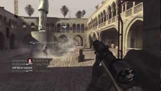 ZoaWar | Cod 4 Uma Killstreak de 10 de Sniper com direito a 2 collaterais.