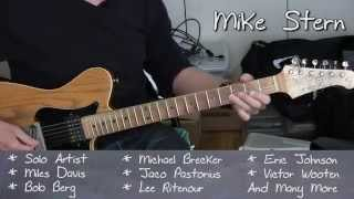 Mike Stern - Guitar Masterclass 2