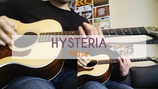 Hysteria - Muse (Cover Acoustic Guitar)
