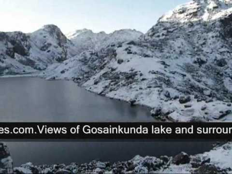Gosainkunda Lake, Langtang Valley trek Nepal.wmv