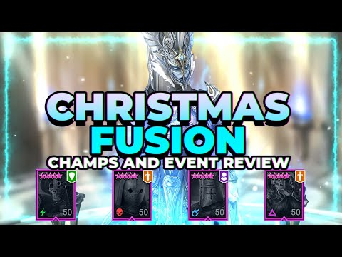 CHRISTMAS FUSION IS LIVE! FULL REVIEW! | RAID Shadow Legends