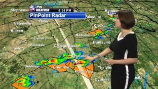 Meteorologist Crystal Ploehn - Severe Weather Cut-in 2