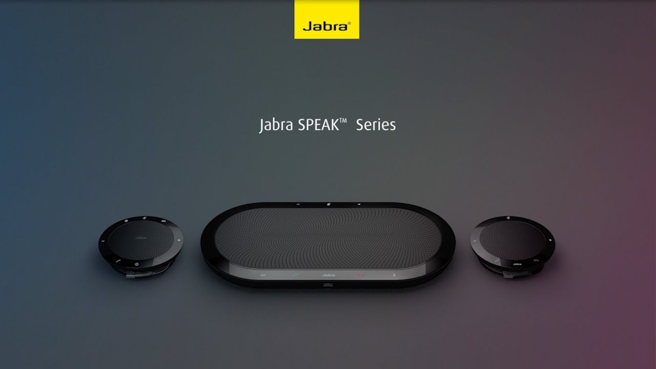 Jabra SPEAK 810 - Speakerphone for large rooms
