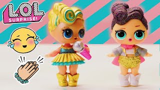 LOL Surprise! | Stop Motion Dance Competition Cartoon | Baby Doll Surprise Toys