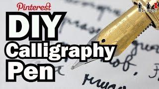 DIY Calligraphy Pen - Man Vs Corinne Vs Pin - Pinterest Test #61