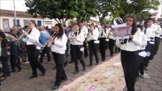 Procissão Corpus Christi 2016 - Banda Pio X (Andrelândia - MG)