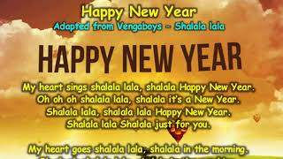 Happy New Year(Adapted from Vengaboys - Shalala lala)