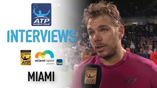 Wawrinka Discusses Zverev 4R Miami 2017 Contest