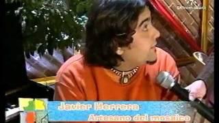 JAVI HERRERA, ARTESANO DEL MOSAICO DE GUAREÑA.