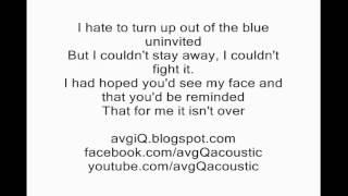 Adele - Someone like you (Karaoke Instrumental Acoustic Version)