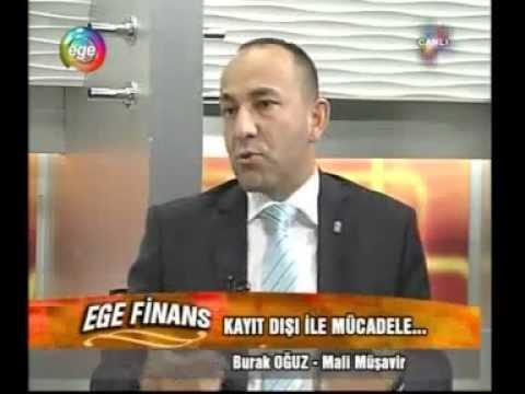 Burak OĞUZ - Ege Tv (24.05.2012) Kayıt Dışı Ekonomi ve İstihdam-2