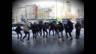 Танцуй Хард Басс Москва (Hard Bass)Moscow(HD)танцуют