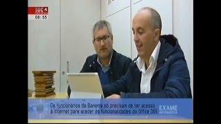 Reportagem: Banema  - Programa Exame Informática - SIC NOTÍCIAS