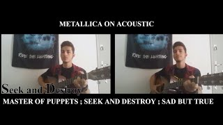 What if Metallica only played acoustic guitar?