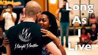 Toni Braxton - Long As I Live Dance | Atoro & Ebonie | Midnight Marathon by Zouk Atlanta